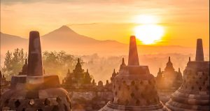 Explore The Borobudur Temple While Enjoying Beautiful Sunrise